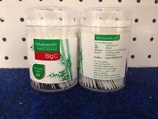 Big C Sanitation UV Sterilizer Plastic Toothpicks 300 PCS. X 2 Boxes