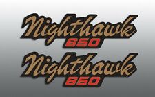 HONDA 1982 '82 CB650 CB 650 NIGHTHAWK SIDE COVER REPRODUCTION DECALS GRAPHICS