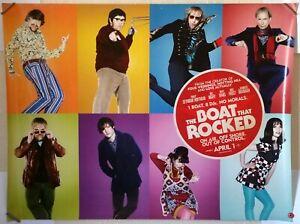 THE BOAT THAT ROCKED Original 2009 UK Cinema Poster Philip Seymour Hoffman