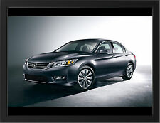 2013 HONDA ACCORD NEW A3 FRAMED PHOTOGRAPHIC PRINT POSTER