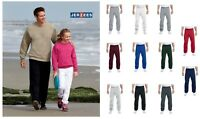 ss Jerzees Mens & Womens NuBlend Cotton-Poly Sweatpant 973M Fitness Gym Running