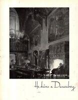 "1935 Original Duesenberg Ad - ""He Drives a Duesenberg.""  Extremely rare."