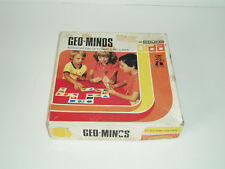"Vintage ""Geo-minos"" educational picture domino game by Nogah Miron. 1975."