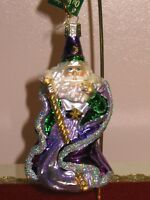"Old World Christmas ""Wizard"" Glass Ornament"