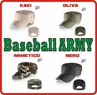 Berretto ARMY classic ATLANTIS cappello cotone 4 colori cappellino ESERCITO caps