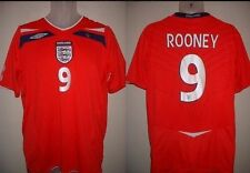 England ROONEY Large Football Soccer Shirt Jersey Uniform Official Umbro 2008-10