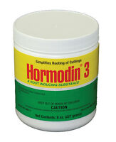 Hormodin #3 Rooting Hormone Powder- 1/2 Lb -0.8% IBA- Root Stimulant Propagation