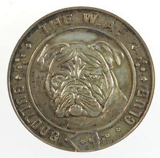 U.S.A. W.A. BULLDOG CLUB silvered-bronze 39mm