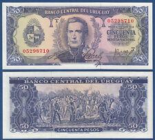 Uruguay 50 pesos (1967) UNC p. 46