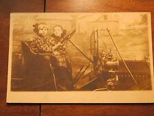 Vintage Antique real photo postcard ~ TOURIST CAR ST LOUIS PENNY ARCADE