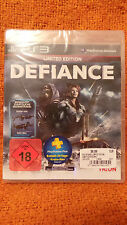 Defiance PS3 LIMITED EDITION Deutsche Version 30 Tage PlayStation Plus OVP NEU