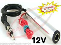 12V Antennenverstärker KFZ Autoradio Antennen Verstärker Autoradio Signal Top !!