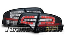 Fari posteriori a LED  Audi A4 Berlina B7 04-08 Neri