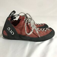70c64bc0afb FIVE TEN 5.10 ROCK CLIMBING SNEAKERS RED BLACK STEALTH C4 SHOES Men s 11