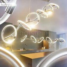 Luxus Hänge Leuchten LED Ringe verstellbar Pendel Lampe dimmbar Ess Wohn Zimmer