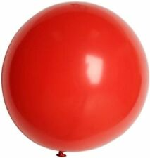 "3' HUGE 36"" Bright Red Qualatex Latex Balloon Party Decoration Birthday Wedding"