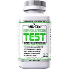 FinaFlex REVOLUTION TEST Testosterone Booster Energy, 60 capsules BLOCK ESTROGEN
