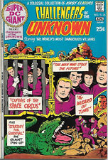 Super DC Giant Comic Book #25 Challengers of Unknown, DC Comics 1971 VERY FINE+