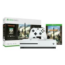 Xbox One S 1TB Tom Clancy s The Division 2 Console Bundle  -  White Xbox One S C