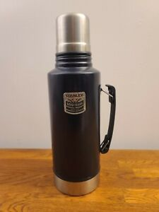 Stanley Tools Navy Blue 100 Year Anniversary Vacuum Bottle 2qt Coffee Thermos