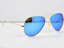 Ray Ban Polarised Small Aviator RB3025 112/4L 55mm & Case $179 retail