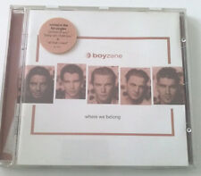 BOYZONE WHERE WE BELONG CD ALBUM 1998 OTTIMO POP SPED GRATIS SU + ACQUISTI!!!
