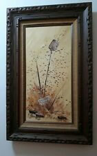 JIM PATTERSON Original Oil Painting. Signed & Framed. 20 x 32. Wisconsin Artist
