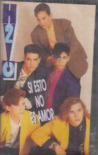 H2O Si Esto No Es Amor Cassette New Sealed