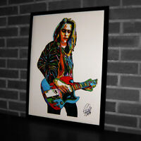 Jake Kiszka Greta Van Fleet Hard Rock Music Poster Print Tribute Wall Art 18x24