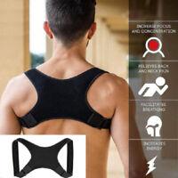 Support Corrector Back Corset Belt Pain Shoulders Brace Correction Ortho JE