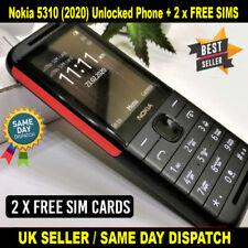 NUOVO Nokia 5310 (2020) Dual SIM sbloccato telefono cellulare-nero con 2 x libero Sims