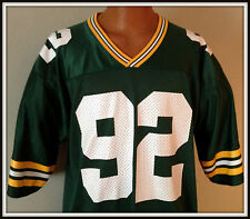 VINTAGE REGGIE WHITE GREEN BAY PACKER STARTER JERSEY ADULT SIZE 48 FREE SHIPPING