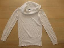 Weißer leichter Damen Pullover in Gr. S von Flash Lights