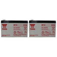 Yuasa Yuasa NP7-12 12V 7AH Battery PACK OF 2