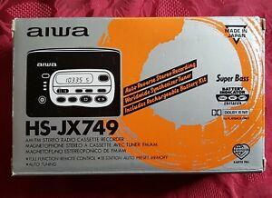 Aiwa HS-JX749 Cassette Walkman (Rare hi End Radio/Recording Model)