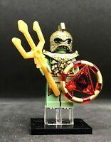 ATLANTIS GOLDEN PORTAL EMPEROR minifigure ARCADE movie