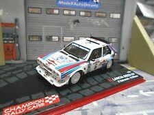 LANCIA DELTA S4 Rallye Gr.B RAC GB 1985 Sieger #6 Toivonen Martini IXO Alta 1:43