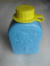 McDonalds Happy Meal Toy Camp McDonaldland Blue Yellow Plastic New Canteen 1989