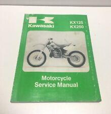 MOTORCYCLE SERVICE   REPAIR MANUAL 1994-1996 KAWASAKI KX125 KX250  99924-1168-02