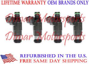 Lifetime Warranty-1997-2002 MIRAGE 1.5L OEM BOSCH Fuel Injector Set-