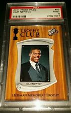 "2011 Press Pass #54- Cam Newton ""Trophy Club"" Rookie Card! PSA MINT 9!"