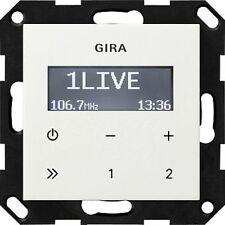 Gira Up-radio RDS O. Lautsprecher RW 228403