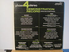 TED HEATH/STANLEY BLACK Demonstration Record Free UK Post