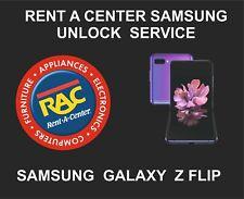 Samsung Rent A Center Unlock Service for Samsung Galaxy Z Flip