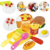 Kinderküche Spielküche Essen Spielzeug Küche Zubehör Zubehörteile Hamburger Set