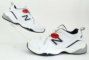 *NEW!* New Balance 608v4 Training/Walking Sneakers White/Navy 10(2E) Wide Width