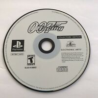 007 Racing Collectors Edition Playstation PS1 Video Game Disc Only Free Shipping