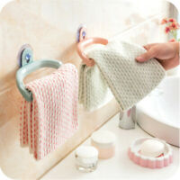 Multi-Purpose Towel Rack Suction Cup Wall Removable Bathroom Kitchen Hanger Jian