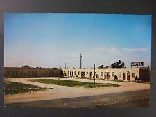 Mission South Dakota Motel Rosebud Indian Reservation Vtg Color Postcard 1950s