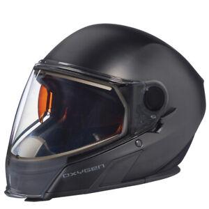 Ski-Doo Oxygen Snowmobile Helmet Matte Black XLarge 9290191293
